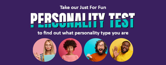 Take the personality test quiz